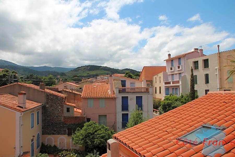 À Collioure, appartement dernier étage
