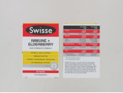SWISSE IMMUNE+ ELDERBERRY 60 TABS
