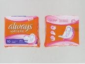 ALWAYS SOFT & FIT 10'S LONG PLUS WINGS