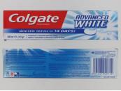 COLGATE 100ML T/P ADVANCED WHITE