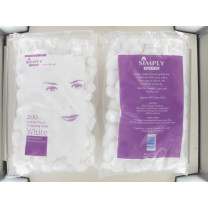 SIMPLY COTTON WOOL BALL WHITE 200S