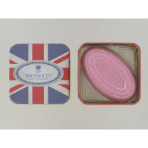 BRONNLEY 100G SOAP UNION JACK TIN PINK