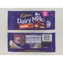 CADBURY D.MILK 95G NUTS PM£1
