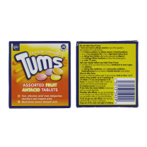 TUMS 36 ASS FRUIT ANTACID TABLETS