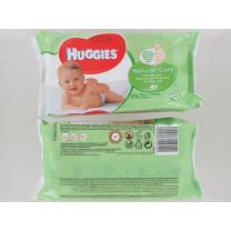 HUGGIES BABY WIPES 56S NAT NEW PK