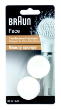 BRAUN BEAUTY SPONGES FACE 80-B X2
