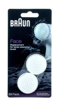 BRAUN CLEANSING BRUSHES FACE 89 X2