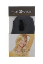 HAIR2WEAR SIDE FRINGE ALMOST BLACK
