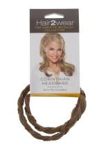 HAIR2WEAR CORINTHIAN HEADBAND GOLD BLOND