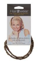 HAIR2WEAR DOUBLE BRAID HEADBAND GOLD BLO