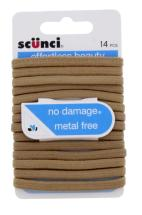 SCUNCI NO DAMAGE FLAT ELASTIE 14PC