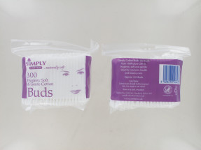 SIMPLY COTTON COTTON BUDS BAG 300S