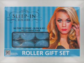 SLEEP-IN HAIR ROLLERS BLUE GIFT SET