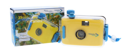 TRAVEL EASY UNDERWATER CAMERA YELLOW