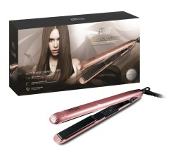 T.SORBIE ROSE GOLD STRAIGHTENER UK PLUG