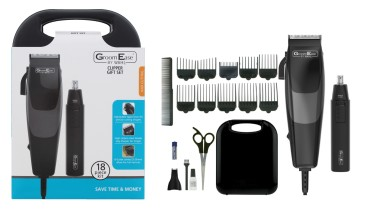 WAHL GROOMEASE CLIPPER SET 18PC UK PLUG