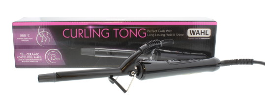 WAHL CERAMIC COATED CURLING TONG 13MM