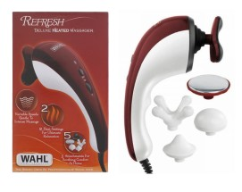 WAHL DELUXE HEAT MASSAGER 5 BATTERY