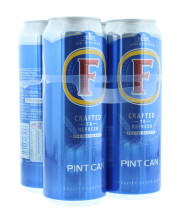 FOSTERS 4X568ML CAN 4%
