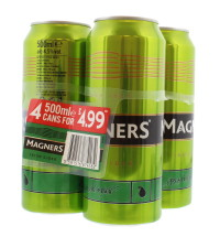 MAGNERS CIDER 4X500ML PEAR PMP