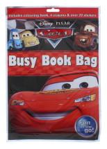 DISNEY PIXAR CARS BUSY BOOK BAG