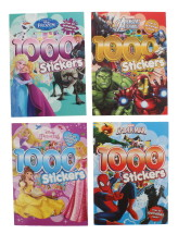 DISNEY 1000 STICKERS ASSORTED