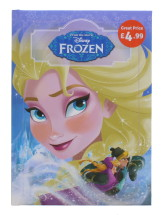 DISNEY FROZEN PADDED CLASSIC PMP £4.99