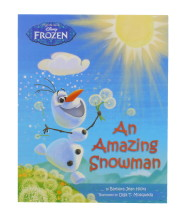DISNEY FROZEN AN AMAZING SNOWMAN BOOK