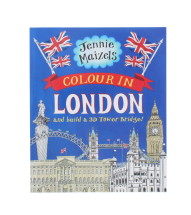 LONDON COLOUR AND 3D TOWER ACTIVITY BOOK