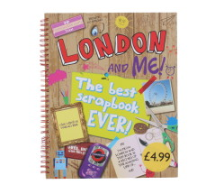 LONDON&ME! BEST SCRAPBOOK EVER! PM£4.99