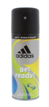 ADIDAS 150ML A/P SPRAY GET READY (FOR)