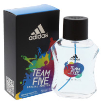 ADIDAS 50ML EDT SPRAY MEN TEAM FIVE