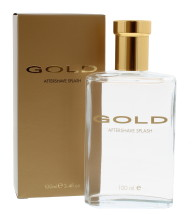 GOLD 100ML A/SHAVE SPLASH