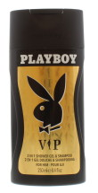 PLAYBOY 250ML 2IN1 S/GEL & S/POO VIP