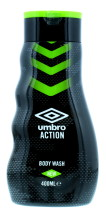 UMBRO 400ML B/WASH ACTION