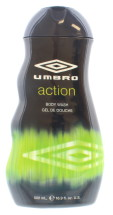 UMBRO 500ML B/WASH ACTION