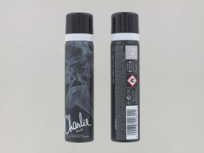 CHARLIE 75ML BODY SPRAY BLACK NEW PK