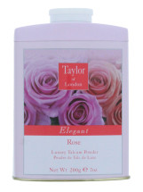 TAYLOR OF LONDON 200G TALC ROSE