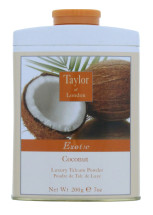 TAYLOR OF LONDON 200G TALC COCONUT