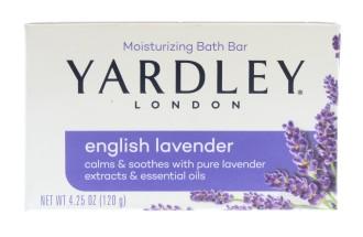 YARDLEY 120G SOAP ENGLISH LAVENDER BOXED