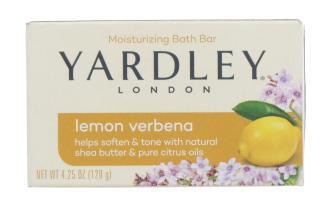 YARDLEY 120G SOAP BOXED LEMON VERBENA