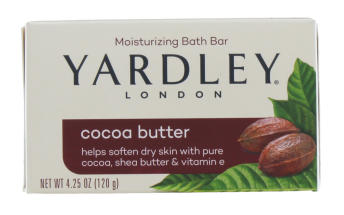 YARDLEY 120G SOAP BOXED COCOA BUTTER