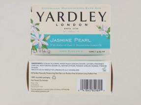 YARDLEY 120G SOAP BOXED JASMINE PEARL