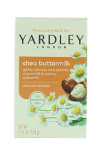 YARDLEY 120G SOAP BOXED SHEA BUTTERMILK