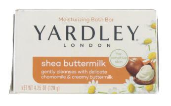 YARDLEY 120G SOAP BOXED SHEA BUTTER