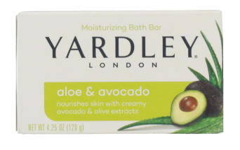 YARDLEY 120G SOAP ALOE AND AVOCADO BOXED