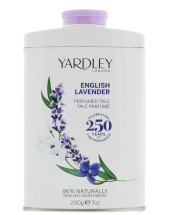 YARDLEY 200G TALC ENGLISH LAVENDER