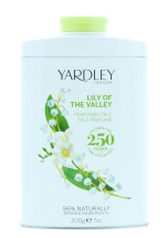 YARDLEY 200G TALC LILY OF THE VALLEY