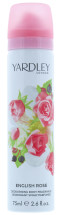 YARDLEY 75ML B/SPRAY ENGLISH ROSE