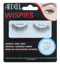 ARDELL LASHES WISPIES BLACK WITH GLUE